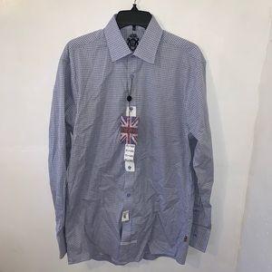 NEW English Laundry Men's Dress Shirt Size Medium